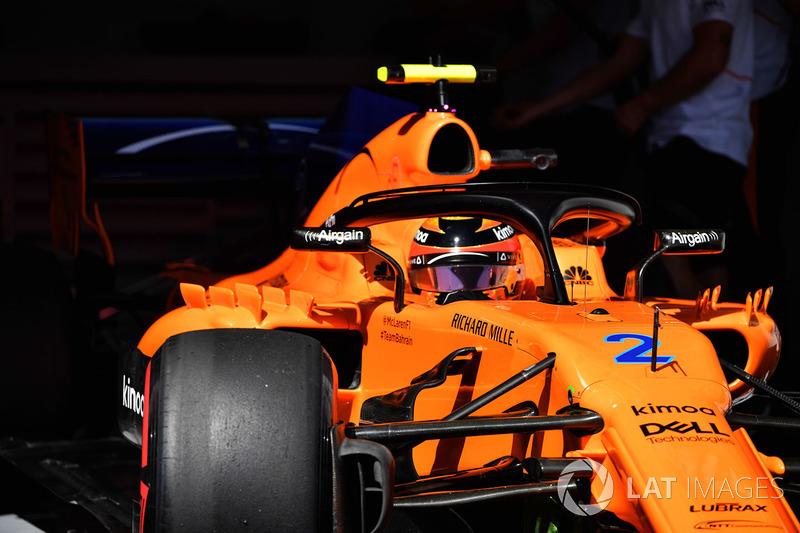 17: Stoffel Vandoorne, McLaren MCL33, 1'33.162