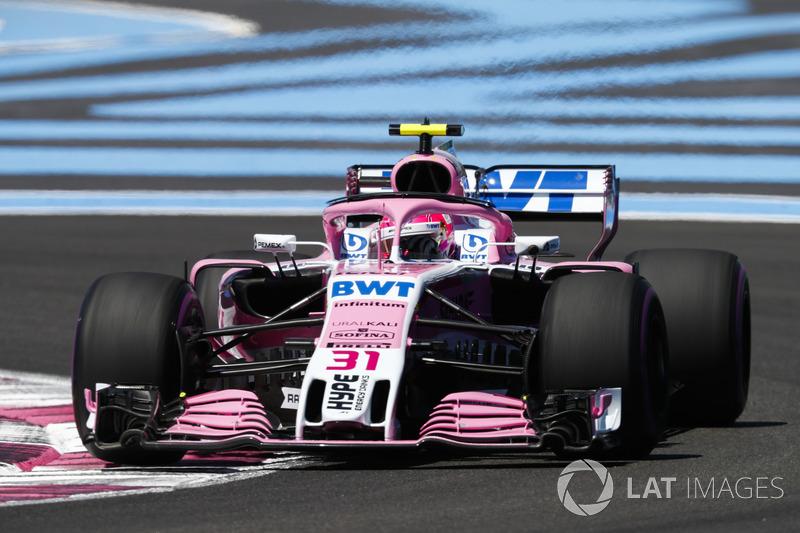 13. Esteban Ocon, Force India VJM11