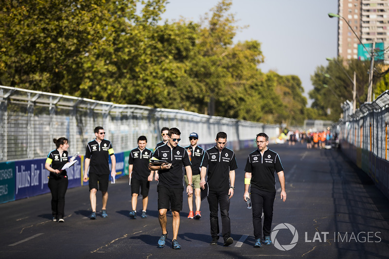 Sébastien Buemi, Renault e.Dams. & Nicolas Prost, Renault e.Dams