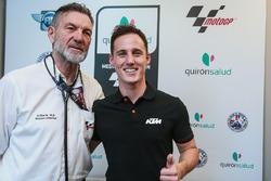 Pol Espargaro, Red Bull KTM Factory Racing, Dr Angel Charte, MotoGP Medical Director