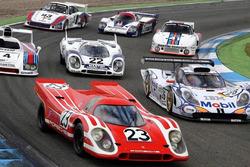 Les livrées Porsche du Mans