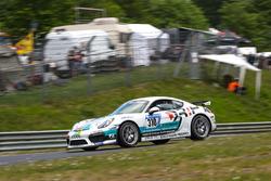 #310 Schmickler Performance powered by Ravenol Porsche Cayman GT4 CS: Ivan Jacoma, Claudius Karch, Kai Riemer