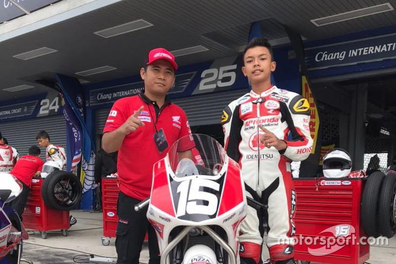 Adenanta Putra di ajang Thailand Talent Cup 2017