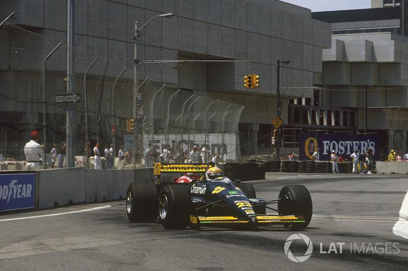 3. Pierluigi Martini, 118 GPs (1984-1985, 1988-1995), o melhor resultado é o 4° lugar em San Marino 1991 e Portugal 1991.