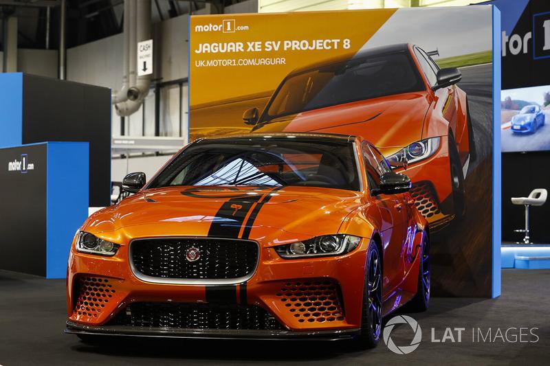 The Jaguar XE SV Project 8