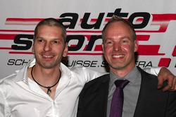 Eric Berguerand e Marcel Steiner alla premiazione ASS a Berna