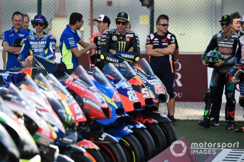 Valentino Rossi, Yamaha Factory Racing, Mortbidelli, Francesco Bagnaia, Pramac Racing