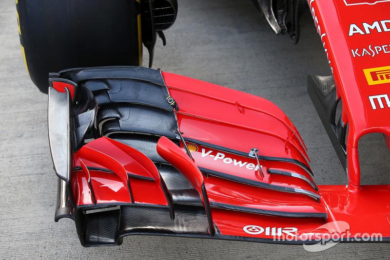 フェラーリSF71Hのフロントウイング