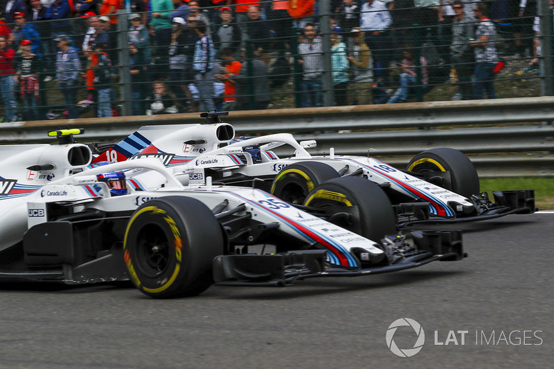 Sergey Sirotkin, Williams FW41 és Lance Stroll, Williams FW41