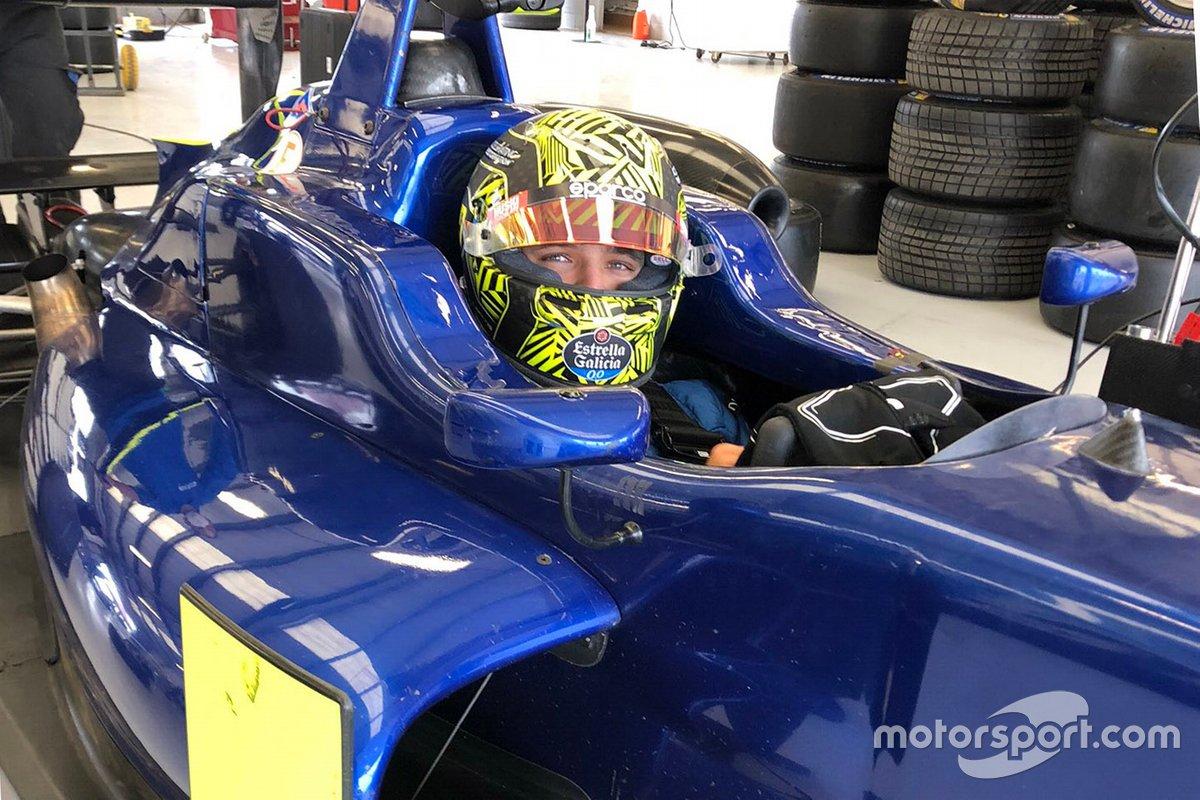 Norris en essais à Silverstone