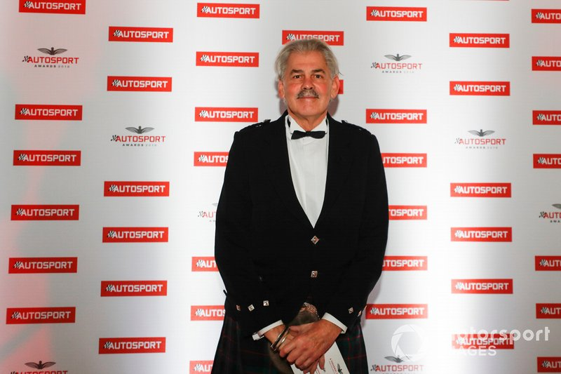 Gordon Murray agli Autosport Award di domenica