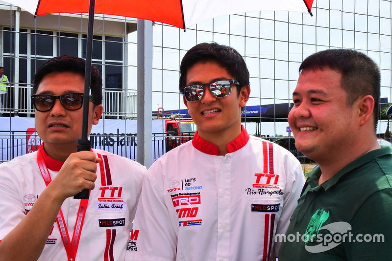 Rio Haryanto, Advisor Toyota Team Indonesia