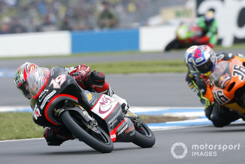 GP de Grande-Bretagne 2004 125cc