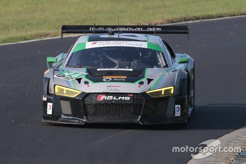 #44 Magnus Racing Audi R8 LMS: John Potter, Andy Lally