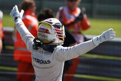 Race winner Lewis Hamilton, Mercedes AMG F1 W07
