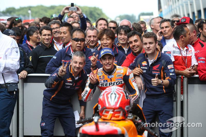 İkinci sıra Marc Marquez, Repsol Honda Team
