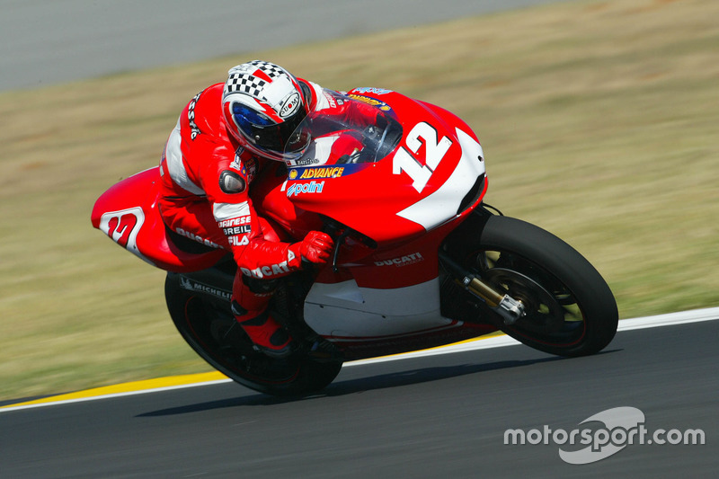 #12 Troy Bayliss