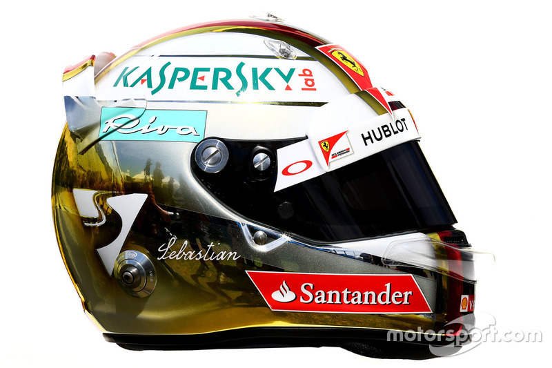 le casque de sebastian vettel ferrari gp d 39 australie photos formule 1. Black Bedroom Furniture Sets. Home Design Ideas