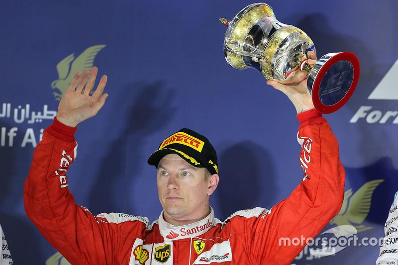 Podium: 2. Kimi Räikkönen, Ferrari