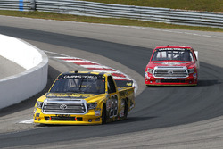Grant Enfinger, ThorSport Racing Toyota, Austin Wayne Self, AM Racing Toyota