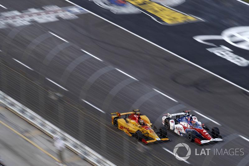 Ryan Hunter-Reay, Andretti Autosport Honda Conor Daly, A.J. Foyt Enterprises Chevrolet