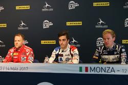Press Conference: #55 Spirit of Race, Ferrari F488 GTE: Matt Griffin, #39 GRAFF, Oreca 07 - Gibson: Enzo Guibbert, #3 United Autosports, Ligier JS P3 - Nissan:Wayne Boyd