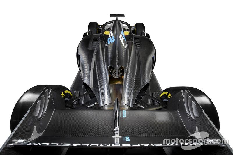 Peluncuran mobil FIA Formula 2