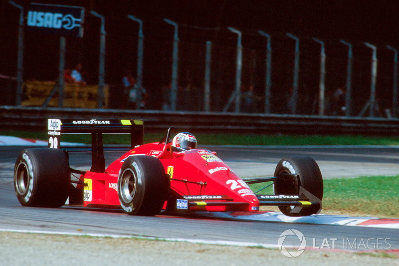 20: Gerhard Berger: 115 grandes premios (el 54,76 % de los disputados)
