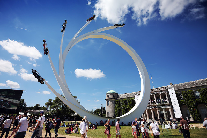 Bernie Ecclestone Sculpture