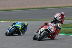 Jorge Lorenzo, Ducati Team, Andrea Iannone, Team Suzuki MotoGP