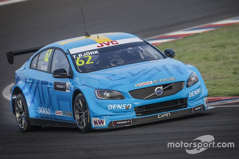 Тед Бьорк, Polestar Cyan Racing Volvo S60 Polestar TC1