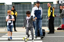 Felipe Massa, Williams, son Felipinho Massa
