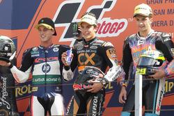 Podium: 1. Marc Marquez, 2. Pol Espargaro, 3. Andrea Iannone