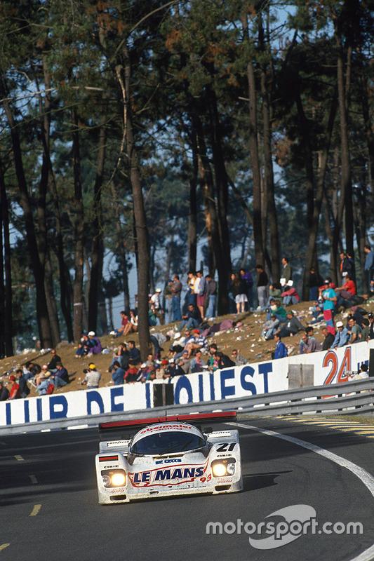 #21 Obermaier Racing Porsche 962C: Otto Altenbach, Jürgen Oppermann, Loris Kessel