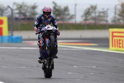 Il secondo classificato Alex Lowes, Pata Yamaha