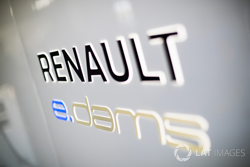 Логотип команды Renault e.Dams