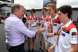 Martin Brundle, Sky TV, F1 in Schools World Champions