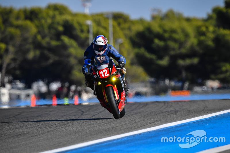 #12 Speedteam 72., Yamaha: Nicolas Loyau, Sebastien Delhommeau, Freddi Bequin