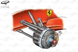 Ferrari F2001 (652) 2001 front brake and suspension