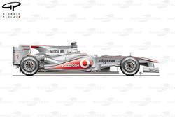 McLaren MP4-25 side view