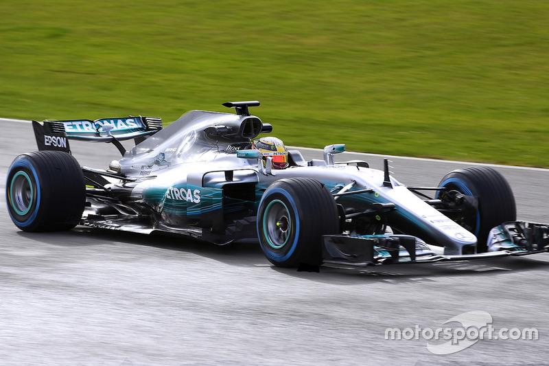 Lewis Hamilton, Mercedes F1 W08 EQ Power+ (2017)