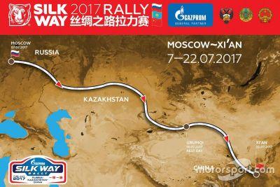 Presentazione Silk Way Rally
