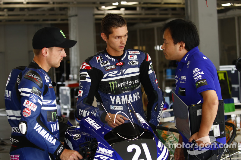#21 Yamaha Factory Racing Team: Alex Lowes, Michael van der Mark