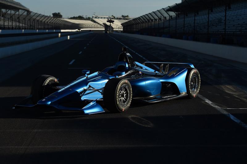 9. Aero-kit IndyCar 2018
