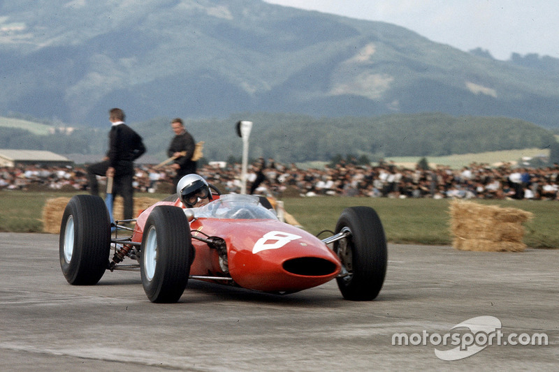 1963-1964: Ferrari 156 Aero (одна победа, 4-е место в КК в 1963-м)