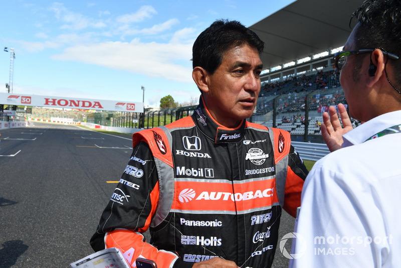 Aguri Suzuki, acara demonstrasi lap Perayaan Legenda F1 ke-30