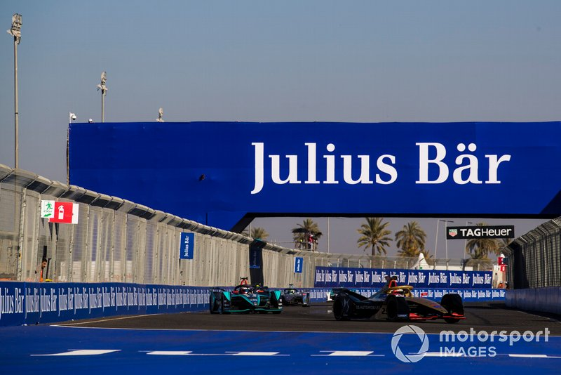 Jean-Eric Vergne, DS TECHEETAH, DS E-Tense FE19, Mitch Evans, Jaguar Racing, Jaguar I-Type 3
