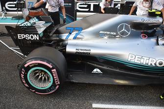 La voiture de Valtteri Bottas, Mercedes AMG F1