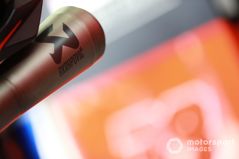Red Bull KTM Factory Racing exhaust detail