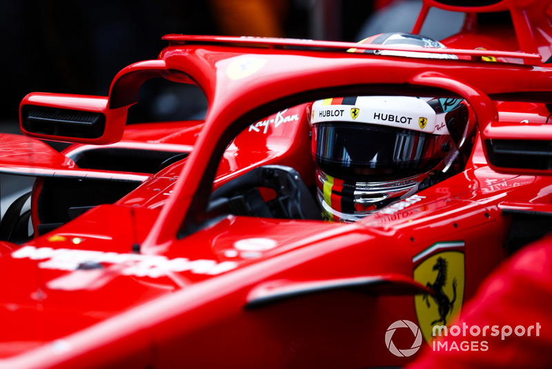 2 місце — Себастьян Феттель, Ferrari